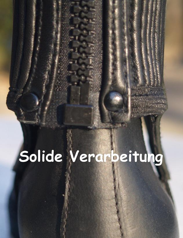 Stiefelschäfte Weitschaft Kurz Chaps Leder Lederchaps 42 46 33 Kurzgröße KK XXL Reit- & Fahrsport