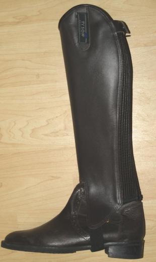 Stiefelschäfte Dunkelbraun Leder Extra Weit 45 52 Weitschaft