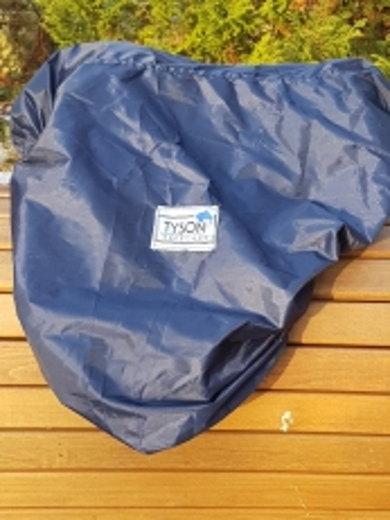 Sattelschoner 8 10 12 14 Zoll Sattelbezug Blau Minishetty Shetty