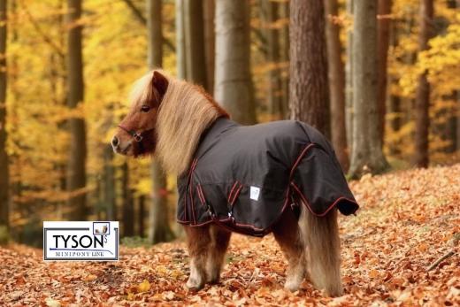 600 D High Neck Regendecke Winterdecke Fleece Lining Gr.  70 80 90 100  cm