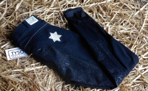 STAR Sterne Vollbesatz Schwarz Grip 36 38 40 42 44  Glitzer