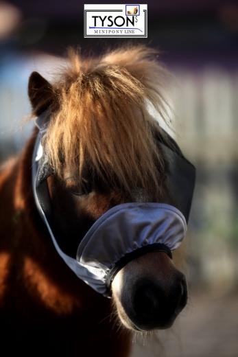 Fliegenhaube  Fliegenmaske Lissy ohne Nase Klett + Gummizug DICHT ! Mit oder ohne Ohren MS S