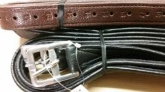 Steigbügelriemen Nyloneinlage Schwarz o Braun 145 155 Leder
