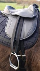 Sattel für Spielpferd /  auch fürs Holzpferd 14 Zoll