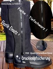Amara Mini Chaps Damen KK Längen super KURZ ! S- bis 51 cm Schwarz Braun