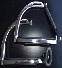 Sicherheitssteigbügel Gummisicherung 12 cm Steigbügel