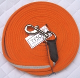Softlonge 8 Meter Orange  Schwarz ROT Blau