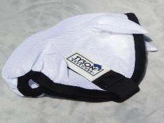 Fliegenhaube Fliegenmaske  MS S mit oder ohne Ohren Weiß