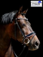 Trense Rosi Leder Butterweich Pony VB WB X Full Kombi o Schwedisch z umbauen ! Strass Rosa