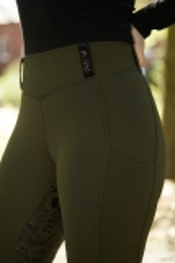 Reithose Days Leggings Reitleggings Olive Merlot 36 38 40 42 44 46 48 50 Vollgrip